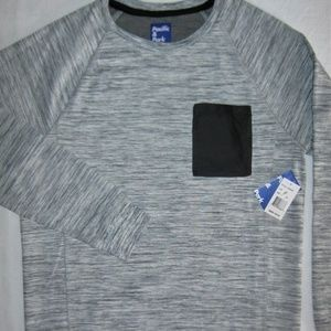 Pacific & Park Shirts - Pacific Park Chest-Pocket Spacedyed Sweatshirt XL